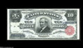 Large Size:Silver Certificates, Fr. 301 $10 1891 Silver Certificate Gem New. A simply spectacularnote, with broad, even margins, flashy bright color and pe...