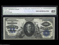 Large Size:Silver Certificates, Fr. 321 $20 1891 Silver Certificate CGA Gem Uncirculated 65. Fromthe middle of the run of about a dozen uncirculated exampl...