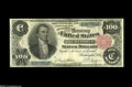 Large Size:Silver Certificates, Fr. 344 $100 1891 Silver Certificate Fine-Very Fine. This one is anold friend that we sold in January of 1996. Around thirt...