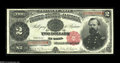 Large Size:Treasury Notes, Fr. 358 $2 1891 Treasury Note Superb Gem New. This General McPherson Deuce is very well centered, and it has perfect colors ...