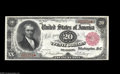 Large Size:Treasury Notes, Fr. 375 $20 1891 Treasury Note Gem New. This note is from the middle-of-the-run that has supplied the only known Uncirculate...