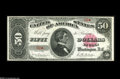 Large Size:Treasury Notes, Fr. 376 $50 1891 Treasury Note Choice New. Most collectors have never seen, let alone had the opportunity to own, a Seward T...