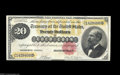 Large Size:Gold Certificates, Fr. 1178 $20 1882 Gold Certificate Gem New. This is one of twoconsecutive uncirculated examples of this number. We've handl...