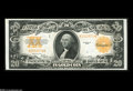 Large Size:Gold Certificates, Fr. 1187 $20 1922 Gold Certificate Superb Gem New. A glorious example of a note that is quite easy to find in Uncirculated g...