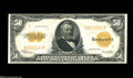 Large Size:Gold Certificates, Fr. 1200 $50 1922 Gold Certificate Extremely Fine. While this is anice enough looking note that is problem free for the gra...