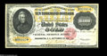 Large Size:Gold Certificates, Fr. 1225 $10000 1900 Gold Certificate Extremely Fine. This attractive, well-centered specimen is cancelled, as are nearly al...