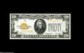 Large Size:Gold Certificates, Fr. 2402 $20 1928 Gold Certificate. Gem Crisp Uncirculated. A crackling-fresh and very well-centered example with far bette...
