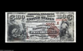 National Bank Notes:Pennsylvania, Philadelphia, PA - $100 1882 Brown Back Fr. 522 The Market StreetNB Ch. # (E03684 A gorgeous $100 Brown Back from the ...