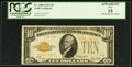 Small Size:Gold Certificates, Fr. 2400 $10 1928 Gold Certificate. PCGS Apparent Fine 15.. ...
