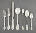 Silver & Vertu:Flatware, An Eighty-Four-Piece Tiffany & Co. Palm Pattern Silver Flatware Service, New York, designed 1871, manufactured 1... (Total: 84 Items)