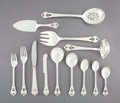 Silver & Vertu:Flatware, A One Hundred and Eighteen-Piece Orla Vagn Mogensen Greta Pattern Silver Flatware Service for Sixteen with Serving... (Total: 118 Items)