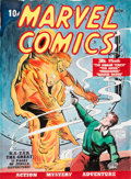 Original Comic Art:Covers, Murphy Anderson Overstreet Comic Book Price Guide #33 CoverFeaturing Marvel Comics #1 Human Torch Ori... (Total: 2Items)