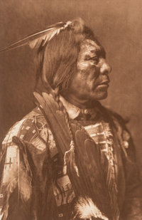 Edward Sheriff Curtis (American, 1868-1952) A Group of Six Photographs Photogravure 15-3/4 x 10-1