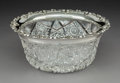 Decorative Arts, American, A Gorham Silver-Mounted Brilliant Cut Crystal Bowl, Providence, Rhode Island, 1899. Marks: STERLING, (lion-anchor-G), ...