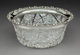 A Gorham Silver-Mounted Brilliant Cut Crystal Bowl, Providence, Rhode Island, 1899 Marks: STERLING, (lion-anchor-G)
