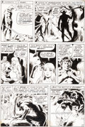 Original Comic Art:Panel Pages, Wally Wood Tower of Shadows #6 Story Page 2 Original Art(Marvel, 1970)....