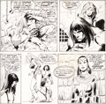 Original Comic Art:Panel Pages, John Buscema, Neal Adams, Dick Giordano, and Others Conan theBarbarian #44 Partial Page 8 O...