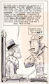 Jack Davis Superfan #T5136 Partial Story Original Art (New American Library, 1972)