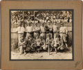 Baseball Collectibles:Photos, 1929 Dizzy Dean New Braunfels Semi-Professional Original Photographfrom The Gene Kirby Collection. ...