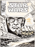Original Comic Art:Covers, John Buscema and Klaus Janson Star Wars Weekly #32 CoverOriginal Art (Marvel UK, 1978)....
