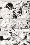 Original Comic Art:Panel Pages, John Buscema and John Romita Sr. Our Love Story #1 StoryPage 5 Original Art (Marvel, 1969)....