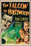 "Movie Posters:Mystery, The Falcon in Hollywood (RKO, 1944). One Sheet (27"" X 41""). Mystery.. ..."
