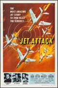 "Movie Posters:War, Jet Attack (American International, 1958). One Sheet (27"" X 41"") and Hardcover Book (287 Pages, 6.5"" x 9.25""). War.. ... (Total: 2 Items)"
