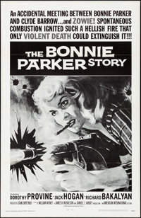 "The Bonnie Parker Story (American International, R-1968). Flat Folded, Very Fine/Near Mint. One Sheet (27"" X 41&quo..."