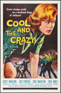 "Movie Posters:Bad Girl, The Cool and the Crazy (American International, 1958). One Sheet(27"" X 41"") and Hardcover Book (287 Pages, 6.5"" x 9.25""). B...(Total: 2 Items)"