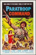 """Movie Posters:War, Paratroop Command (American International, 1959). One Sheet (27"""" X41"""") and Hardcover Book (287 Pages, 6.5"""" x 9.25""""). War.. ...(Total: 2 Items)"""