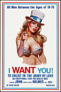 """I Want You! (Carroll Pictures, 1970). One Sheet (27"""" X 41""""). Adult"""