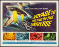 "Movie Posters:Science Fiction, Voyage to the End of the Universe (American International, 1964).Half Sheet (22"" X 28""). Science Fiction.. ..."
