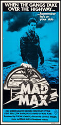 """Movie Posters:Science Fiction, Mad Max (Roadshow, R-1981). Australian Daybill (13.25"""" X 27.25"""").Science Fiction.. ..."""
