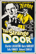 "Movie Posters:Horror, The Strange Door (Universal International, R-Late 1950s).Australian One Sheet (26.75"" X 40""). Horror.. ..."