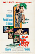 "Movie Posters:Drama, Love Has Many Faces & Other Lot (Columbia, 1965). One Sheets(2) (27"" X 41""). Artwork by Howard Terpning. Drama.. ... (Total: 2Items)"