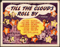 """Movie Posters:Musical, Till the Clouds Roll By (MGM, 1946). Folded, Fine/Very Fine. Half Sheet (22"""" X 28""""). Style A, Al Hirschfeld Artwork. Musical..."""