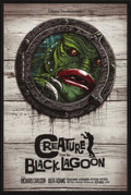 "Movie Posters:Horror, Creature from the Black Lagoon (Mondo, 2018). Numbered LimitedEdition Poster (18"" X 24"") Gary Pullin Artwork. Horror.. ..."