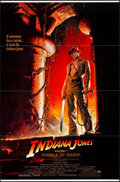 "Movie Posters:Adventure, Indiana Jones and the Temple of Doom (Paramount, 1984). One Sheet(27"" X 41"") Style B, Bruce Wolf Artwork. Adventure.. ..."