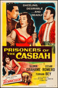 "Movie Posters:Adventure, Prisoners of the Casbah & Other Lot (Columbia, 1953). One Sheet(27"" X 41"") & Insert (14"" x 36""). Adventure.. ... (Total: 2Items)"