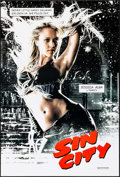 "Movie Posters:Crime, Sin City (Dimension, 2005). One Sheet (27"" X 40"") DS Advance,Jessica Alba Style. Crime.. ..."