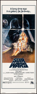 "Movie Posters:Science Fiction, Star Wars (20th Century Fox, 1977). Insert (14"" X 36"") Tom JungArtwork. Science Fiction.. ..."
