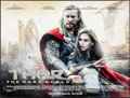 "Thor: The Dark World (Walt Disney Studios, 2013). British Quad (30"" X 40"") DS Advance. Adventure"