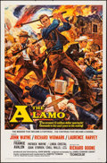 "Movie Posters:Western, The Alamo (United Artists, 1960). One Sheet (27"" X 41""). Reynold Brown Artwork. Western.. ..."