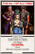 "Movie Posters:Drama, Cleopatra (20th Century Fox, 1963). One Sheet (27"" X 41"") Todd A-ORoadshow Style, Howard Terpning Artwork. Drama.. ..."