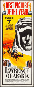 "Movie Posters:Academy Award Winners, Lawrence of Arabia (Columbia, 1962). Insert (14"" X 36"") Academy Awards Style B. War.. ..."