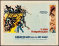 "Movie Posters:Western, The Magnificent Seven (United Artists, 1960). Half Sheet (22"" X28"") Style B. Western.. ..."