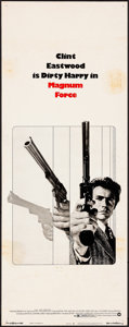 "Movie Posters:Action, Magnum Force (Warner Brothers, 1973). Insert (14"" X 36""). Action....."