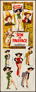 "Movie Posters:Comedy, Son of Paleface (Paramount, 1952). Insert (14"" X 36""). Comedy.. ..."