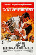 """Movie Posters:Academy Award Winners, Gone with the Wind (MGM, R-1980). One Sheet (27"""" X 41"""") Howard Terpning Artwork. Academy Award Winners.. ..."""