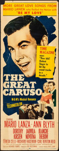 "Movie Posters:Musical, The Great Caruso & Other Lots (MGM, 1951). Inserts (2) (14"" X36""). Musical.. ... (Total: 2 Items)"
